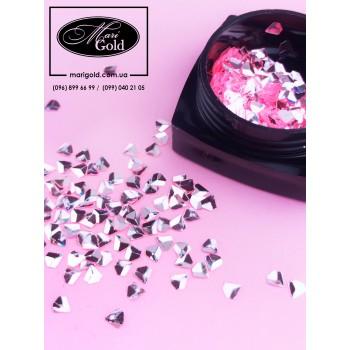 Декор в баночке Nail Art №7 (розовый бриллиант)