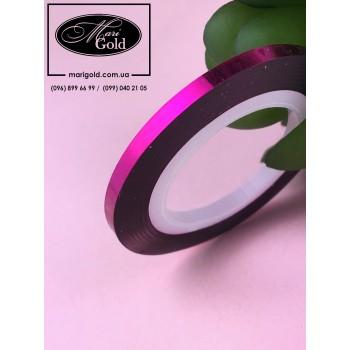 Нить для дизайна ногтей розовая 3 мм.