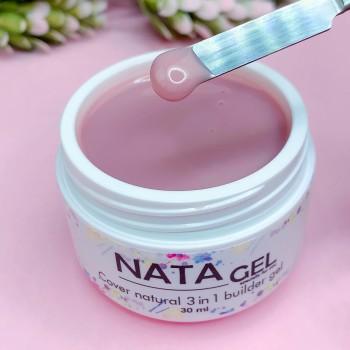Однофазный гель NATA gel cover natural, 30ml