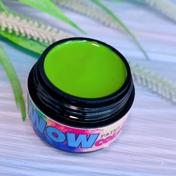 Гель-краска WOWcolor №30, весенняя трава. 5 мл.