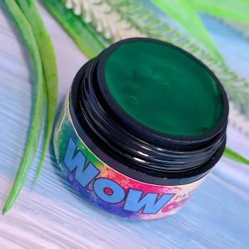 Гель-краска WOWcolor №18, изумрудная. 5 мл.