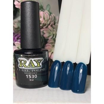 Гель-лак для ногтей RAY № 1530 (темно-синий), 10ml