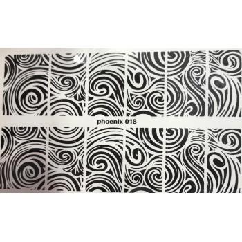 Cлайдер фольгированный 018 (черная)