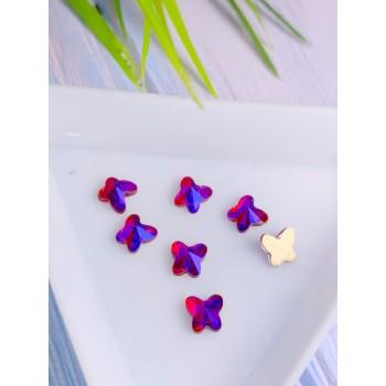 Стразы Volcano бабочка, размер 3*4 мм. (1 шт.)