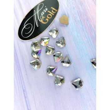 Стразы Crystal Lux  диамант, размер 7*7 мм. (1 шт.)