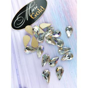 Стразы Crystal Lux  капля, размер 6*10 мм. (1 шт.)
