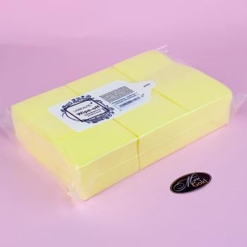 Безворсовые  салфетки , плотные Lilly (желтые)