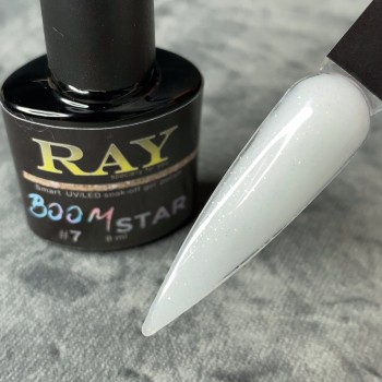 Гель-лак для ногтей RAY boom star № 7, 8ml