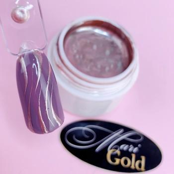 Гель-краска mirror 5 мл (розовое золото)
