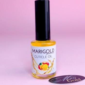 "Масло для кутикулы ""MARIGOLD"" 10 мл, Манго."