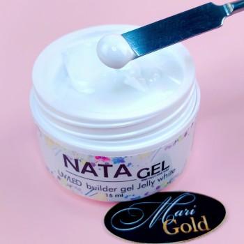 Однофазный гель-желе NATA gel, белый, 15 гр