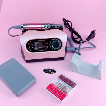 Фрезер для маникюра BUCOS ZS-717 (65W/35000 об.) розовый