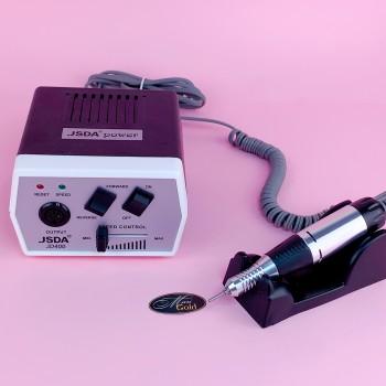 Фрезер для маникюра JSDA  JD-400 (35W/30000 об., оригинал) черный