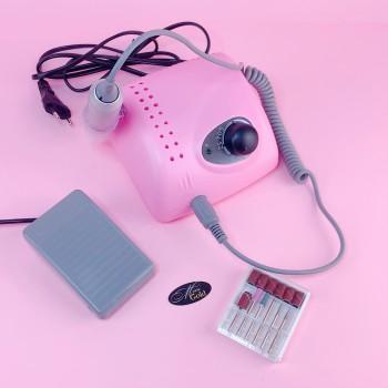 Фрезер для маникюра BUCOS ZS-705 (65W/35000 об.) розовый