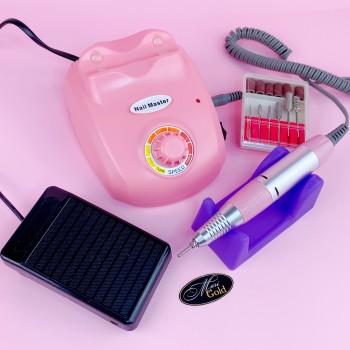 Фрезер для маникюра Nail Master F 603 (35000 об.) розовый