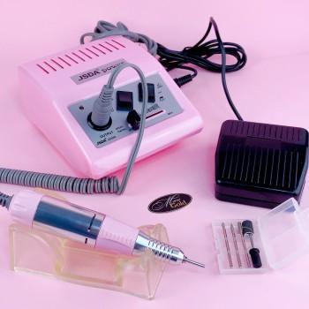 Фрезер для маникюра JSDA  JD-500 (35W/30000 об., оригинал) розовый