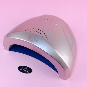 SUN one на 48 Вт (серебро) UV LED лампа (улучшенное качество, русская инструкция)