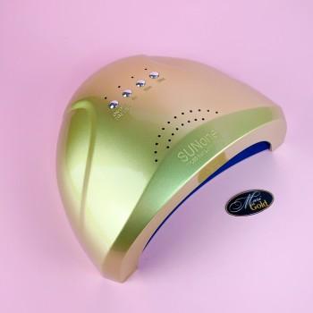 SUN one на 48 Вт (золотая) UV LED лампа для сушки гелей и гель-лаков
