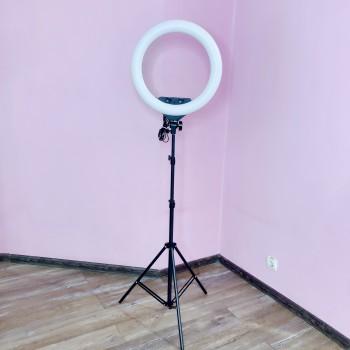 Кольцевая лампа ZB-F348 (7087)