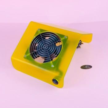 Вытяжка пластиковая 30 W маленькая (желтая)