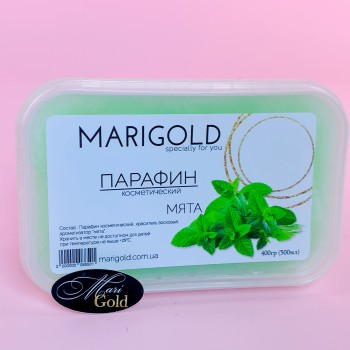 """""""MARIGOLD"""" парафин косметический Мята, 500 мл (400 гр)"""