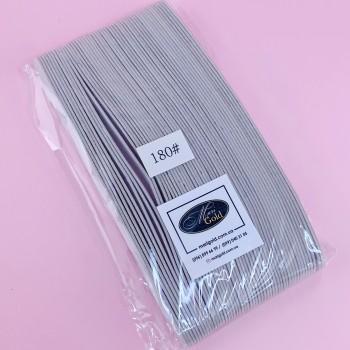 Smile:) Набор сменных файлов для пилки полумесяц 180 грит 50 шт (пенная основа)