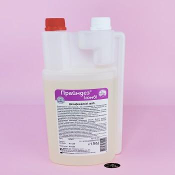 Средство для дезинфекции и стерилизации поверхностей и инструмента Праймдез комби 1 л