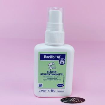 Спиртовое быстродействующее дезинфекционное средство Бациллол АФ 50 мл