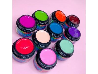Можно ли гель-краску использовать, как гель-лак  и можно ли прорисовывать ею линию улыбки?