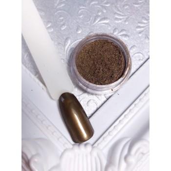 Пигмент коричневый металлик Lilly Beaute