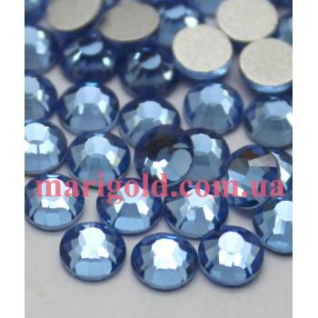 Стеклянные стразы Light Sapphire ss5, 100шт
