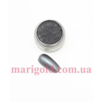 Пигмент, черный металлик, 3гр.